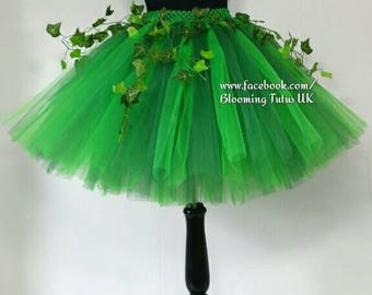 ADULT Poison Ivy Tutu Skirt-Fancy Dress, Cos play, Hen Do, Party