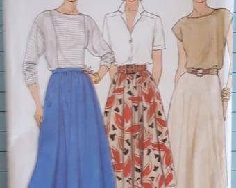 Butterick 3067 Misses Skirt Size 12-16