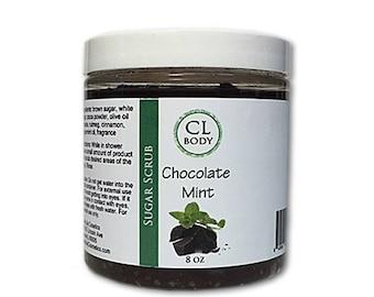 Chocolate Mint Sugar Scrub