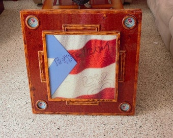 Puerto Rico Souvenir/Mesa de Domino/Domino Table/Art Collectible/Gift