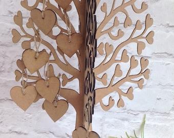 Wedding tree guest book alternative freestanding tree
