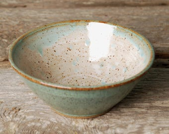 Handmade ceramic serving bowl