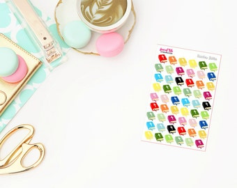 Rainbow Bibles | Life Planner Stickers
