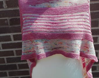 luxcurious pink shawl