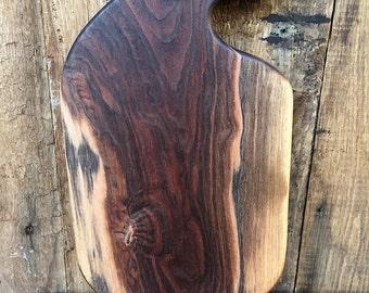 Walnut Cutting Board, Serving Board, Bread Board, Cheese Board, Cool Cutting Board, Unique Cutting Board