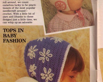 PDF Two Crochet Baby Hat Patterns Fits up to 6 Months