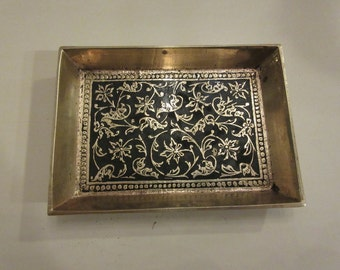 INDIA TRINKET DISH or Tray