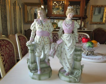 GERMANY MAN and WOMAN Figurines