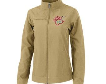 Paw Stethoscope Women's Dockside Jackets. Womens Vet Tech Jacket. Womens Custom Monogram Jacket. Vet Tech Jacket. CR: 5713.
