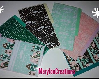Dividers. Customizable Pocket or A5