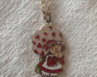 Vintage Strawberry Shortcake Necklace