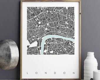 London Wall Art london print | etsy