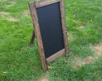 Wedding Sign |  Blank Chalkboard Easel  |  Medium