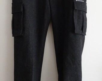 pantalon 3/4 - pantacourt DKNY Donna Karan gris taille 38 - uk 10 - us 6
