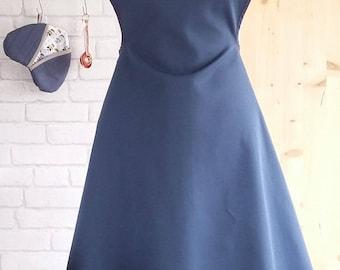 Alice - woman apron apron - blue