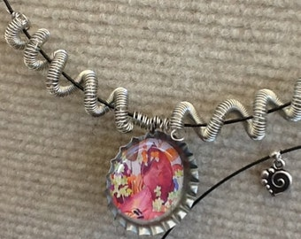 Bottle-Cap necklace