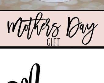 Gifts for Mom, Mom, Christmas Gifts for Mom, Mom From Daughter, Personalized Mom, New Mom Gift, Pregnancy Announcement, Pregnancy Gift