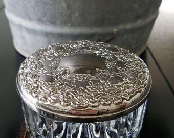 vanity powder jar | etsy, Hause ideen