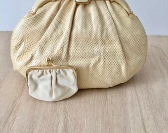 Vintage Judith Lieber lizard clutch shoulder bag | Wedding Bag | working girl party purse