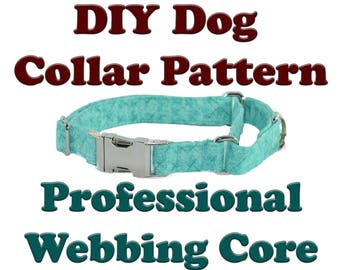 DIY Quick Release Martingale Tutorial Instructions Adjustable Dog Collar Pattern