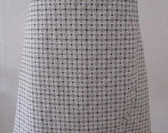 Wrap skirt white/black, grey, beige