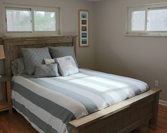 rustic bed frame bed pine bed modern bed bed frame king bed queen bed double bed twin bed frame