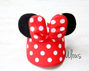 Mickey Visor, Minnie Mouse Visor, Ear Visor, Kids Mickey Visor, Mickey Kids Hat, Minnie Kids Hat, Children Visor, Disney Visor, Mouse Visor