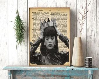 Instant download, Rihanna Poster,Rihanna Print, Rihanna Art,Riri Poster, Modern Art, Music Gift, Mothers Day Gift, Rihanna, Music Art,Design
