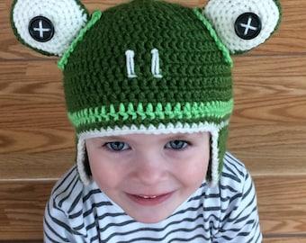 Caleb Frog Hat - Caleb Beanie