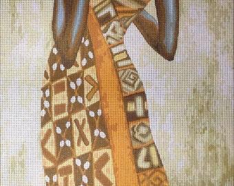 """Gobelin Tapestry Needlepoint Kit """"Africa """" cod. 398"""