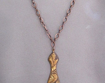 Unusual Copper Necklace
