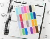 28 Chalk Border Label Stickers | S011 | Planner Stickers