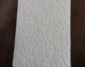 Branches Embossed Cardstock, Embossed Sheets, Embossed Card Fronts