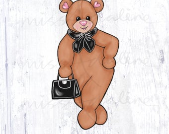 Boss Lady Miss Bear Edition