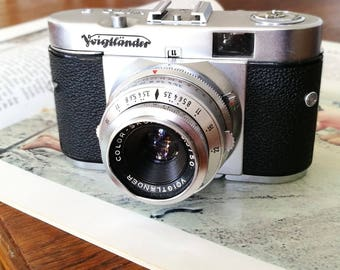 Voigtlander Vito B. Ready-To-Use Vintage 1950's Camera