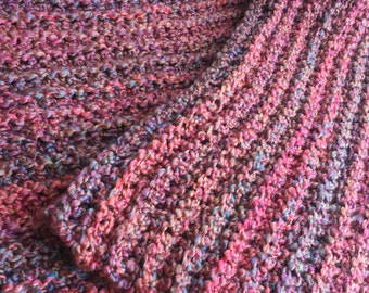 Handcrafted Throw Lap Blanket - Handmade Crochet