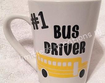 BUS DRIVER coffee mug