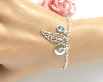 Angel wing bracelet, angel bracelet, angel bangle, angel wing jewellery, angel win jewelry, angel wing