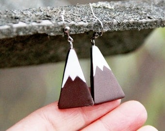 Mountains Jewelry Mountains Earrings Boho Earrings Boho Jewelry birthday gift for friend  Unique earrings colorado jewelry Housewarming gift