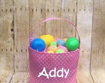 Personalized Easter Bucket, Easter Basket
