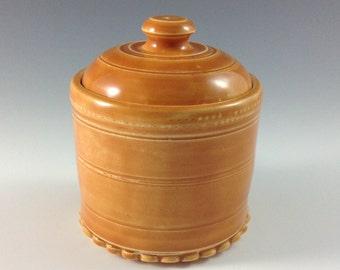 Ceramic Jar,  Nick-nak Jar, Sugar Bowl, Sugar Jar, Trinket Jar,