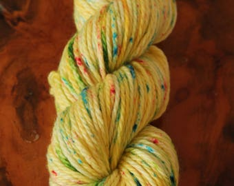"Hand Painted ""Fluttershy"", Bulky, Super Wash Merino, Wool, Knitting, Crochet, My Little Ponies, MLP, Yarn"