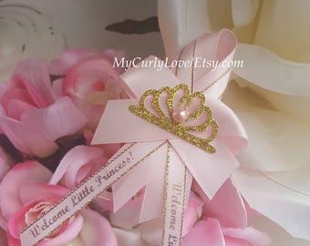 12 Guest Pins/Princess Guest Pins/Princess Guest Pins/Girl Guest Pins/Girl Guest Pins/Princess Birthday Pins/Princess Custom Baby Shower Pin