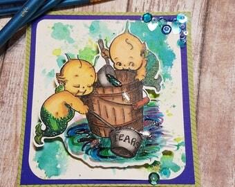 Buckets of Tears Card