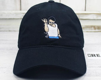 SALT BAE Meme Dad Hat Curved Bill Baseball Cap 100% Cotton Emoji Steak Salt Style