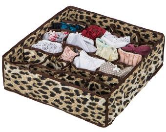 Underwear organizer. Lingerie Organizer. Drawer Organizer. Storage box