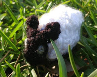 Tiny Crochet Sheep