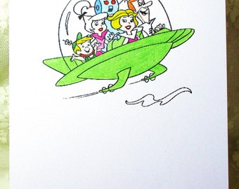 The Jetsons Card: Add a Greeting or Leave Blank