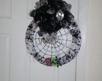 Spider Skeleton Wreath