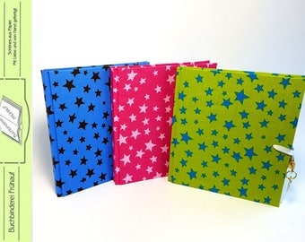 Diary lockable, notebook, diverent colors, children diary